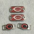 2 ~ Cincinnati Reds MLB Paracord Charms Oval or Mini Dog Tag shoelace charms on Ebay