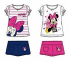 Disney Minnie Mouse T-Shirt+Shorts Set Sommer Set Mädchen