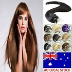 AU Ship 18-22Inch Easy Loop Micro Ring Beads Tipped Remy Human Hair Extensions
