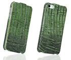 BOROFONE Lizard Pattern Genuine Leather Flip Cover Case for iphone 5 5s