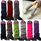 Внешний вид - Women Winter Knit Crochet High Knee Leg Warmers Leggings Boot Socks Slouch