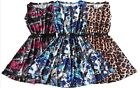 GIRLS PARTY FLORAL KIDS PLAIN BODYCON SKATER DRESS FLARED BELTED PRINTED DRESSES