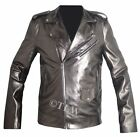 QuickSilver super hero (Even Peter) X MEN Apocalypse Leather Jacket - All Size