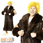 Barney Rubble Costume + Wig Mens Fancy Dress The Flintstones Cartoon Outfit New
