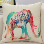 Horse Animal Ink Painting Pillow Case Throw Cushion Home Sofa Decor Square 18''