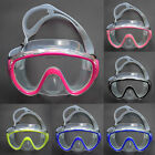 New Adults Diving Goggles Tempered Glass Lenses Swimming DP