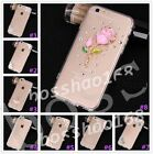 Glitter Luxury Crystal Bling Rhinestone Diamonds Soft Silicone Case Cover AA-1