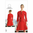 Vogue 1317 American Designer Ralph Rucci Chado Tie Dress Sewing Pattern V1317