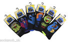 Mens Sesame Street fun character socks, Gift, Multi pack, 6-11 uk, EU 39-45