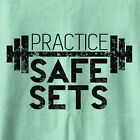 Practice Safe Sets tank top Ladies gym workout tanks