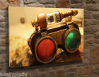 Extra Large Canvas Wall Art Picture Print Steampunk 3D Glasses KA36