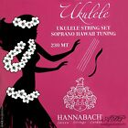 Cordes Ukulele Soprano  Hannabach accordage Hawaii Tuning Uke Strings 230 MT