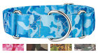1 1/2 Inch Martingale Dog Collar - Military and Camo Collection