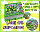 My Singing Monsters Edible Cake Toppers image SHEET picture sugar paper cupcakes