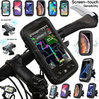 Universal 360 Degree Bicycle Bike Waterproof Phone Case Mount Holder For Mobiles