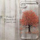 MAK Disegno Cherry Blossom Sakura Pressed Real Flower Floral Skin Case Cover