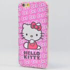 Hello Kitty Case Apple iPhone 6 6S Plus Cover Bling Bling TPU Soft Bumper Skin