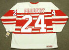 BOB PROBERT Detroit Red Wings 1992 CCM Vintage Throwback NHL Hockey Jersey