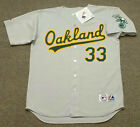 JOSE CANSECO Oakland Athletics 1989 Majestic Throwback Away Baseball Jersey on Ebay