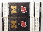 Michigan WOLVERINES vs WISCONSIN Football 2 Alumni Tickets together great seats
