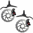 Clarks M2 Hydraulic Disc Brake set Front & Rear all rotor sizes and mount option