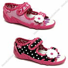 Girls sandals canvas shoes slippers trainers size 8 - 12 UK  toddler new