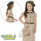 Evacuee Girl Costume- Child Girl Outfit Fancy Dress