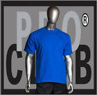 1 New Mens Pro Club Heavyweight Royal Blue Blank T Shirt M to 3XL PROCLUB