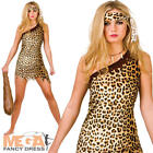 Cute Cavegirl Ladies Cave Woman Fancy Dress Womens Flintstones Adults Costume