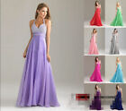 Wholesale Price Halter Sequined Chiffon Long Wedding PartyDress Bridesmaid Dress