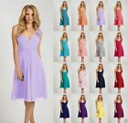 2015 Short Knee Length Formal Cocktail Formal Bridesmaid Party Prom Dress 6-26