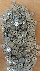 Silver Buttons One Size. Various Weights Available