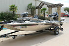 2015 BASS TRACKER PRO 170 2015 MERCURY 4 STROKE 15 HRS AND TRAILER NO RESERVE