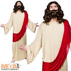 Jesus Robe + Sash Mens Fancy Dress Religious Historical Adults Costume Outfit