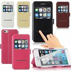 """View Flip Cover Magnetic Touch Answer Leather Case for iPhone 6 4.7"""" Promotion"""