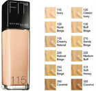 MAYBELLINE FIT ME Liquid Foundation SPF 18 30ml Various Shades
