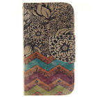 Fashion Stand Flip Wallet Card Slot Leather Hybrid Cover Case For iPhone 4 4S
