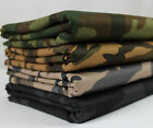 Camo 100% Cotton Twill Fabric Camouflage Army Military Drill
