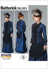 Butterick 6305 Making History Victorian Costume Top Skirt Sewing Pattern B6305