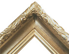 "3.5"" WIDE Silver Ornate photo family Oil Painting Wood Picture Frame 608S"