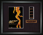 BOND 007  The World is not Enough  Pierce Brosnan   FRAMED MOVIE FILMCELLS