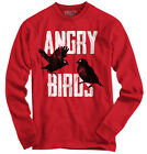Angry Birds Game Shirt | Funny Gift Idea for Kids Movie Pigs Long Sleeve T Shirt