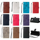 Retro Leather Flip Wallet Card Case Stand Cover For Samsung Galaxy J1 J3 J5 J7