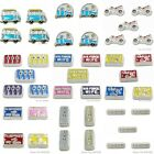 """10pcs/lot 7MM""""car and square shape """"Floating charms,Fit Floating lockets"""