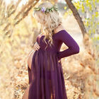 7 colors  Maternity Photography Props Long Pregnancy Dresses Pregnant Clothes