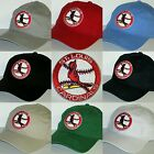 St. Louis Cardinals Polo Style Cap ⚾Hat ⚾CLASSIC MLB PATCH/LOGO ⚾️10 Colors ⚾NEW