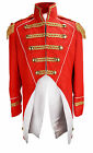 Soldier Napoleon Jacket Fancy Dress Costume Uniform Carnival Theatre Party