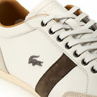 Lacoste Alisos 19 Leather Mens Trainers Shoes Sport Range flat soles Off White