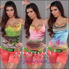 NEW HALTER NECK SHIRTS for ladies PRINT TOP sz XS S M WOMEN'S CASUAL TOPS 6 8 10
