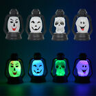 Halloween Pop Colorful Flash Skull Grimace LED Lantern Night Light Lamp Decor